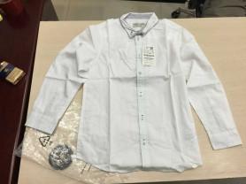 Новые рубашки хлопок цвет белый, голубой и пр