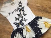 Платье Турция бабочки