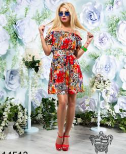 Яркое легкое платье - 14513