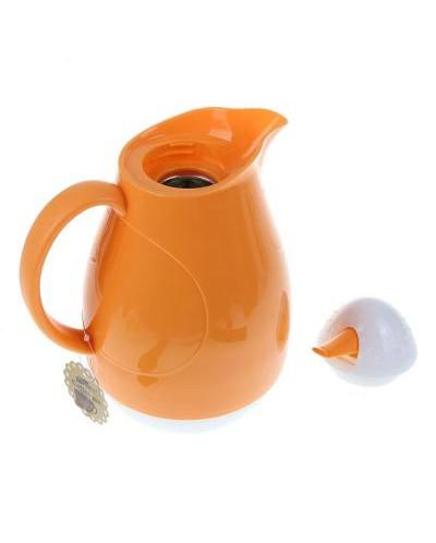 """Термос-кофейник 1л в форме кувшина с ручкой """"Пузырь"""""""