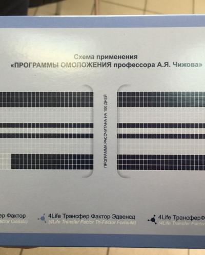 Программа омоложения проф. Чижова 3 месяца