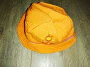 Панама детская, оранжевая р. 52 трикотажная