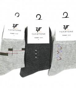 Мужские хлопковые носки