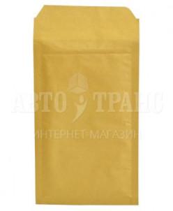 Бурый крафт пакет с прослойкой, 14*22 см