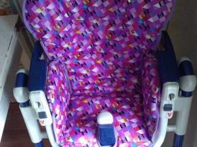 Пошив чехлов на стульчики для кормления малышей