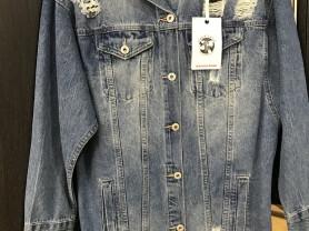 Джинсовая куртка Италия M/L