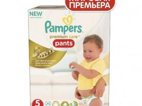 Трусики Pampers Premium Care 5 (12-18кг) 40шт