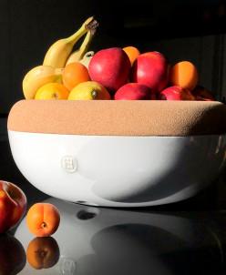 108765 Емкость д/хранения овощей и фруктов, белый