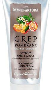 Питательный крем для рук Грейпфрут И Апельсин