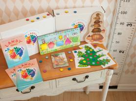 Набор развивающих игр LandyBox для детей 2-2,5 лет