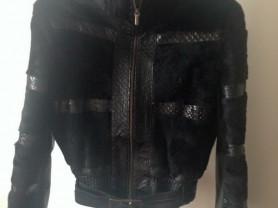 Куртка мех Италия
