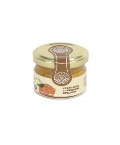 Крем-мед с грецким орехом 30 мл