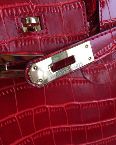 Женская сумка Hermes Натуральная Кожа купить в