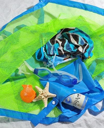 Сетчатая сумка для игрушек