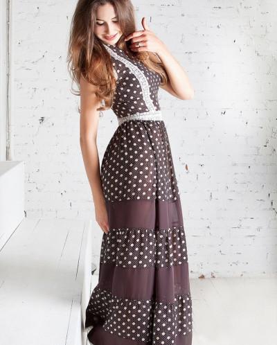 Порно фото платье в горошек