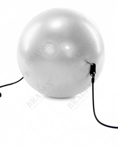 Мяч для фитнеса «ФИТБОЛ-65 с эспандерами» (Fitness Ball with