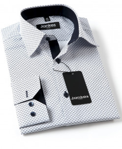 Рубашка с рисунком по ткани 68-110 см