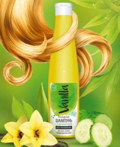 Безсульфатный шампунь с огуречным соком для сухих волос
