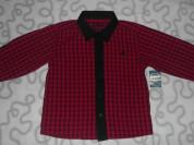 Новая рубашка Matalan с длинным рукавом, 3-4 года