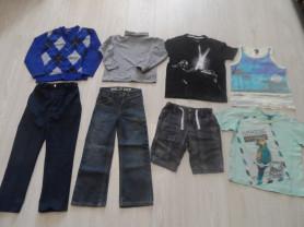 Пакеты фирменной одежды на мальчика на 5-7 лет