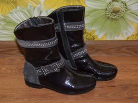 Демисезонные кожаные сапоги Bagira (Турция) 19,5