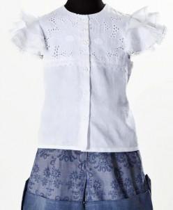 Блузка с крылышками