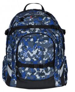 Рюкзак школьный iKON  Blue Camouflage.