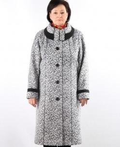 Пальто демисезонные Кашемир Серый