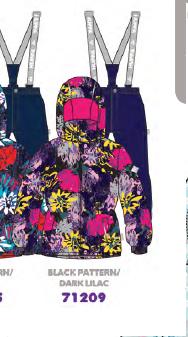 Комплект для девочки Huppa цвет 71209