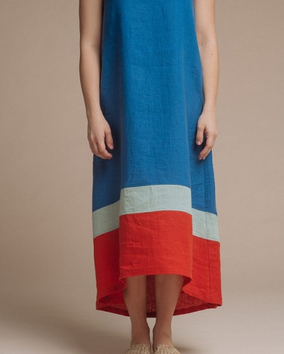"Платье ""Валетта"" лен 100%"