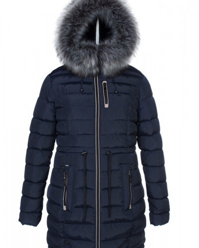 05-0603 Куртка зимняя (Синтепух 400) Плащевка Navy