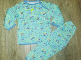 Пижама детская новая р. 74-80, на тонком байке..