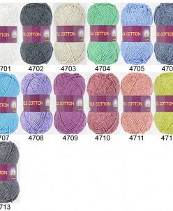 Пряжа Silk Cotton (Vita Cotton)