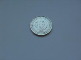 Монета 10 Курушей 2009 год Турция