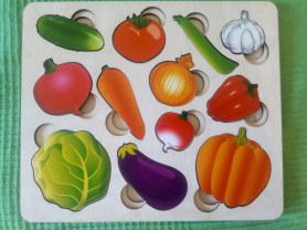 Рамка-вкладыш овощи