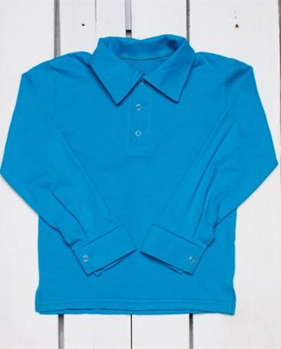 Детская трикотажная рубашка-поло