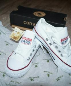 Детские кеды Converse all star.