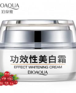 Отбеливающий крем «BIOAQUA» Effect Whitening Cream с клюквой