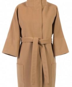 Пальто женское демисезонное (пояс) Кашемир
