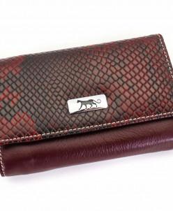 Маленький женский кожаный кошелек Sergio Valentini СВ 8137-0