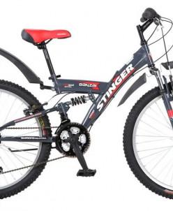 "Велосипед 24"" Stinger Banzay SX 100 18ск. 2ам."