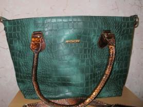 сумка женская экокожа(новая)40*27см