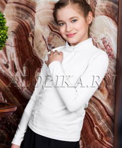 Трикотажная блузка К*итти белая
