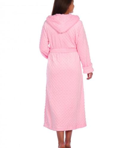 Халат женский Бьянка жаккард (121). Расцветка: розовый