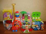 Игрушки для детишек от 1года до 3х лет.