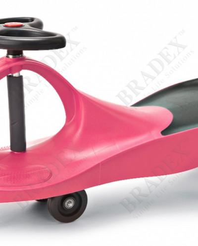 Машинка детская розовая  «БИБИКАР» (Bibicar, pink colour)