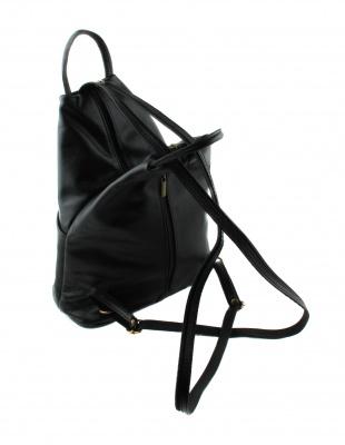 Сумка-рюкзак женская из телячьей кожи