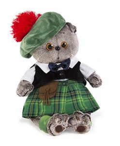Басик в шотландском костюме