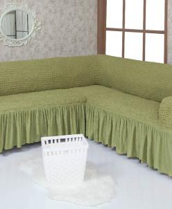 Еврочехлы на диван угловой