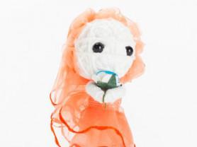 Круэла - кукла, талисман, ручная работа